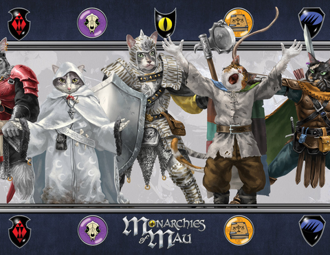Monarchies of Mau GM Screen