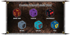 Scarred Lands Dice (6d6)
