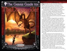 The Genius Guide to the Dragonrider (Pathfinder) PDF