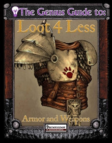 The Genius Guide to Loot 4 Less Vol. 1 (Pathfinder) PDF