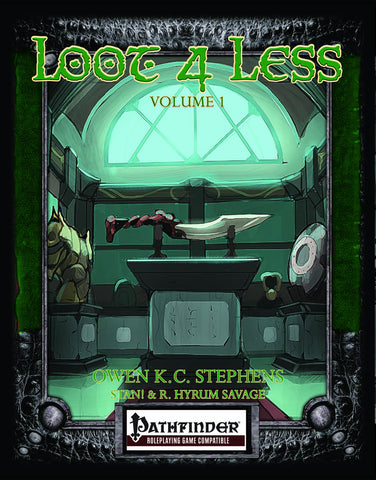 Loot 4 Less Vol.1 (Pathfinder)