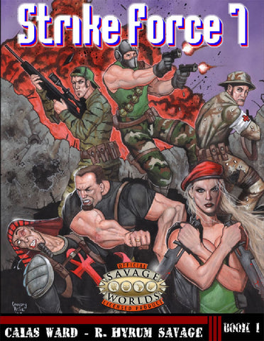Strike Force 7 (Savage Worlds)