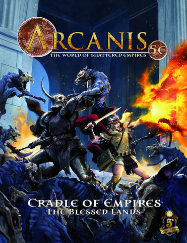 Arcanis 5E: Codex Geographica Vol. 1 - The Blessed Lands