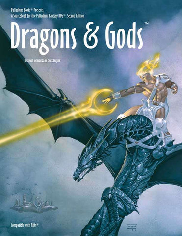 Dragons & Gods, for Palladium Fantasy RPG 2nd Edition