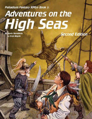 PFRPG 03: Adventures on the High Seas for Palladium Fantasy RPG 2nd Edition