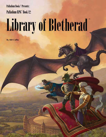 Palladium Fantasy RPG Book 12: The Library of Bletherad