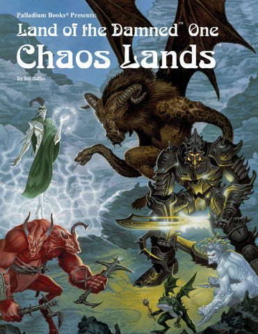 Palladium Fantasy RPG Book 14: Land of the Damned One - Chaos Lands