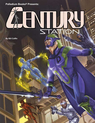 Heroes Unlimited 2nd Edition - Century Station