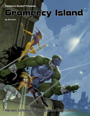 Heroes Unlimited 2nd Edition - Gramercy Island