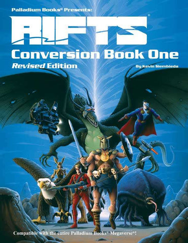Rifts Conversion Book One - Revised