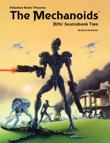 Rifts Sourcebook Two: The Mechanoids