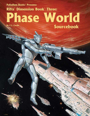 Rifts Dimension Book 3: Phase World Sourcebook