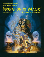 Rifts World Book 16: Federation of Magic, Revised