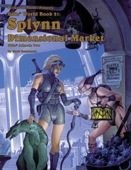 Rifts World Book 21: Splynn Dimensional Market - Atlantis Book Two