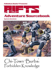 Rifts Adventure Sourcebook One: Chi-Town 'Burbs