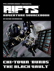 Rifts Adventure Sourcebook 3: The Black Vault