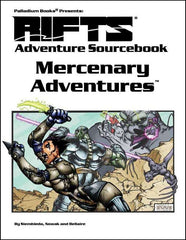 Rifts Adventure Sourcebook: Mercenary Adventures