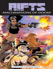 Rifts Machinations of Doom - Graphic Novel & Sourcebook
