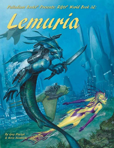Rifts World Book 32: Lemuria