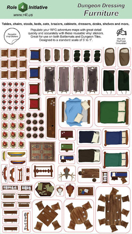 Dungeon Dressing – Furniture