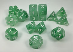 Set of 15 Polyhedral Dice : Dryad's Grove™