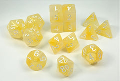 Set of 15 Polyhedral Dice : Will-o-Wisp™