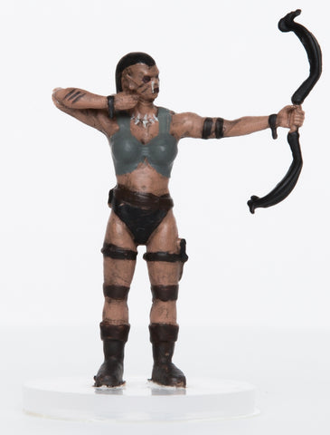 Characters of Adventure: Female Orc Archer