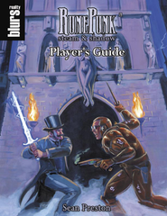 RunePunk: Player's Guide (Savage Worlds) PDF