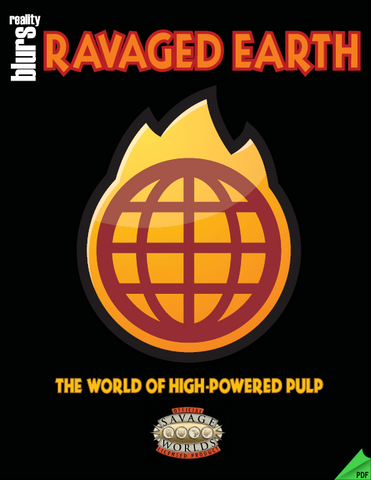 Ravaged Earth: The World of High-Powered Pulp PDF