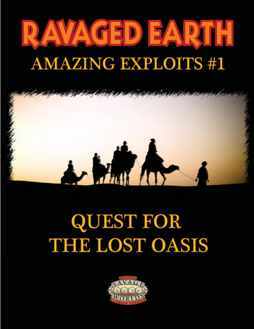 Amazing Exploits #1: Quest for the Lost Oasis PDF
