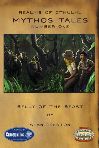 Realms of Cthulhu: Mythos Tales #1: Belly of the Beast PDF