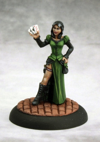 Savage Worlds: Huckster (Female)