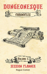 The Chronicles RPG Kit: Session Planner