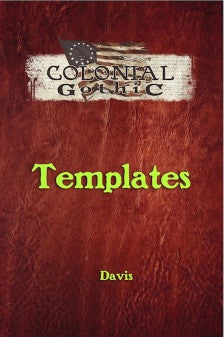 Colonial Gothic: Templates PDF