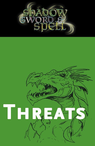 Shadow, Sword & Spell: Threats PDF