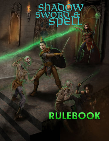 Shadow, Sword & Spell 2nd Edition (Book & PDF Bundle)