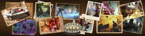 Savage Worlds Adventure Edition: GM Screen + Mini-Settings