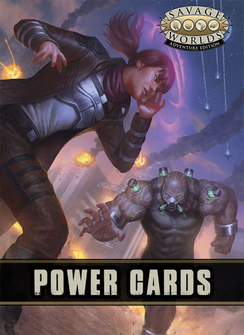 Savage Worlds Adventure Edition: Powers Cards