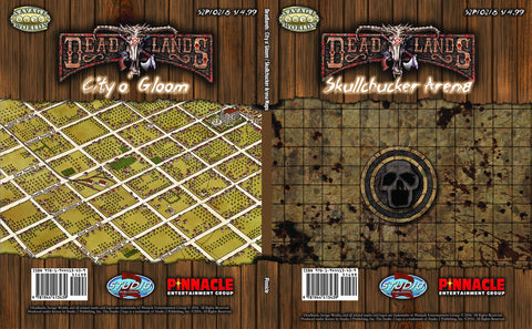 City o Gloom and Skullchucker Arena Map: Deadlands -  Studio 2 Publishing