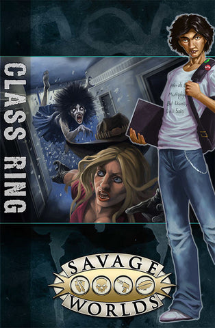 East Texas University: GM Screen with Class Ring Adventure (Savage Worlds)