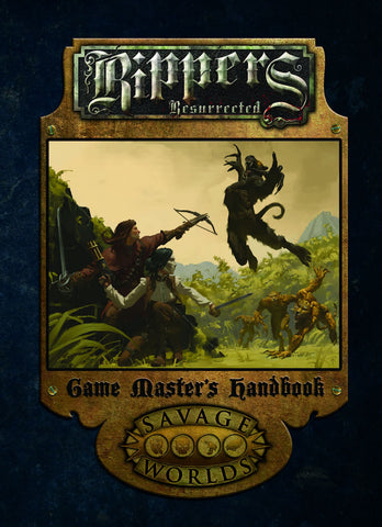 Rippers Resurrected Game Master's Handbook Limited Edition (Hardcover)