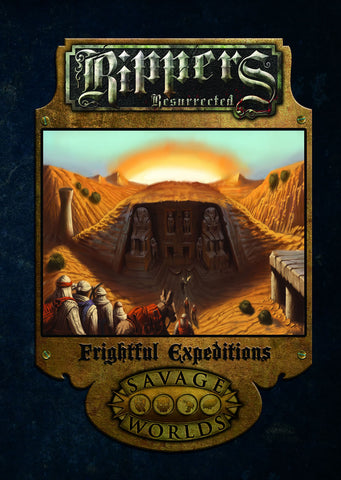 Rippers Resurrected Frightful Expeditions Limited Edition (Hardcover)