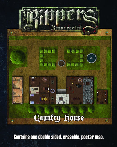 Rippers Resurrected: Country House/Castle Courtyard Map