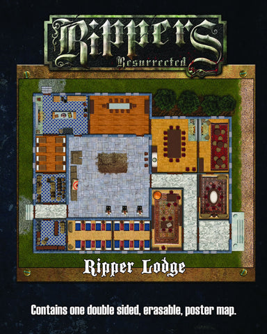 Rippers Resurrected: Ripper Lodge/World of the Rippers Map