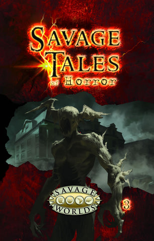 Savage Tales of Horror: Volume 3 Limited Edition (Hardcover)