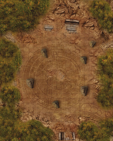 Weird Wars Rome Map Druid Circle/Village