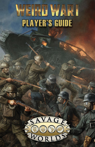 Weird War I: Player's Guide (Softcover)