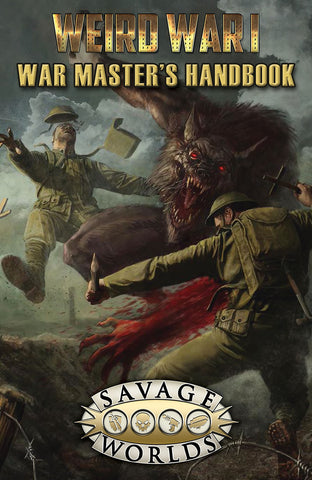 Weird War I: War Master's Handbook Limited Edition (Hardcover)
