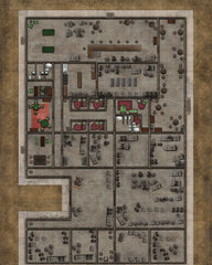 Deadlands Noir Map: Hotel/Manor