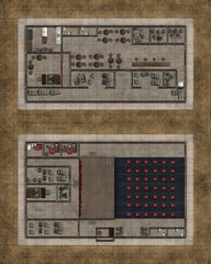 Deadlands Noir Map: Office/Theatre